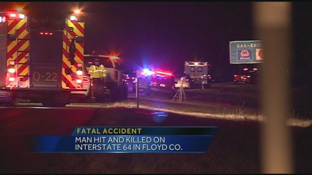 The man hit and killed on I-64 is identified.