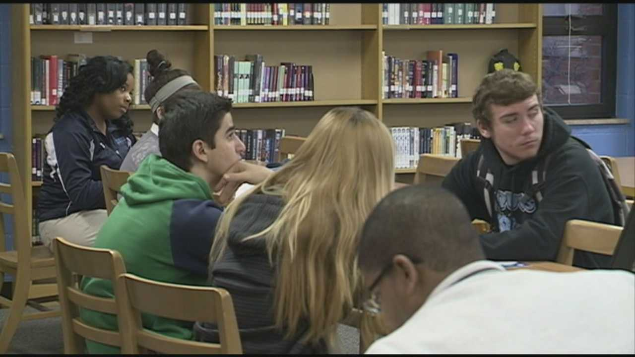 JCPS students learned about debt and the dangers or carrying too much.
