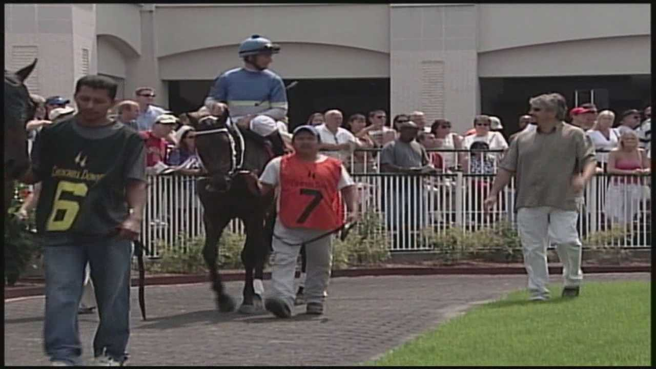 Well-known racehorse trainer Steve Asmussen is accused of abusing horses.