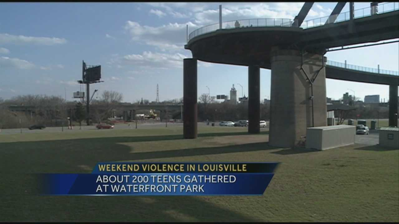 Louisville Mayor Greg Fischer and Police Chief Steve Conrad said the city is safe and steps will be taken to prevent a repeat of violence in downtown Louisville after a series of weekend attacks.