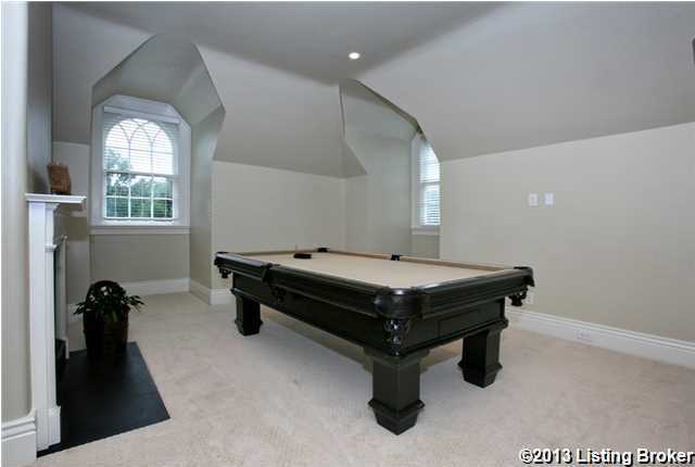 This room has been converted into the residential billiard.
