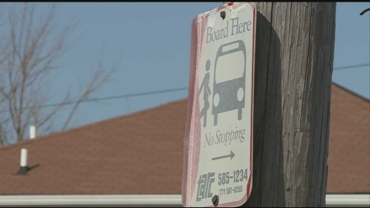Woman who says she was robbed at bus stop describes incident