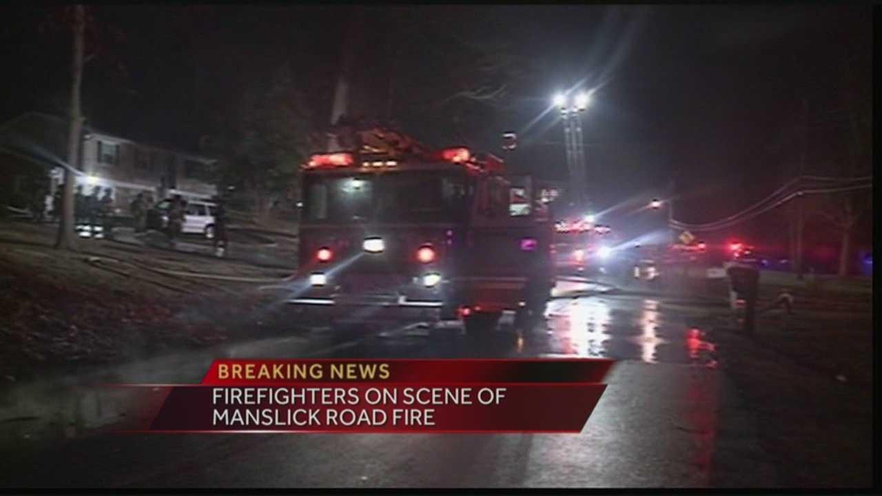 Manslick Road fire