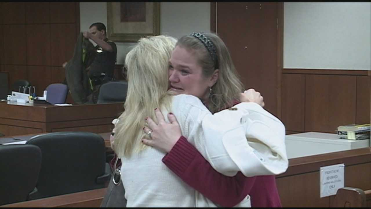Jennifer Pierce apologized at Tuesday's hearing and was even embraced by the victim's family.