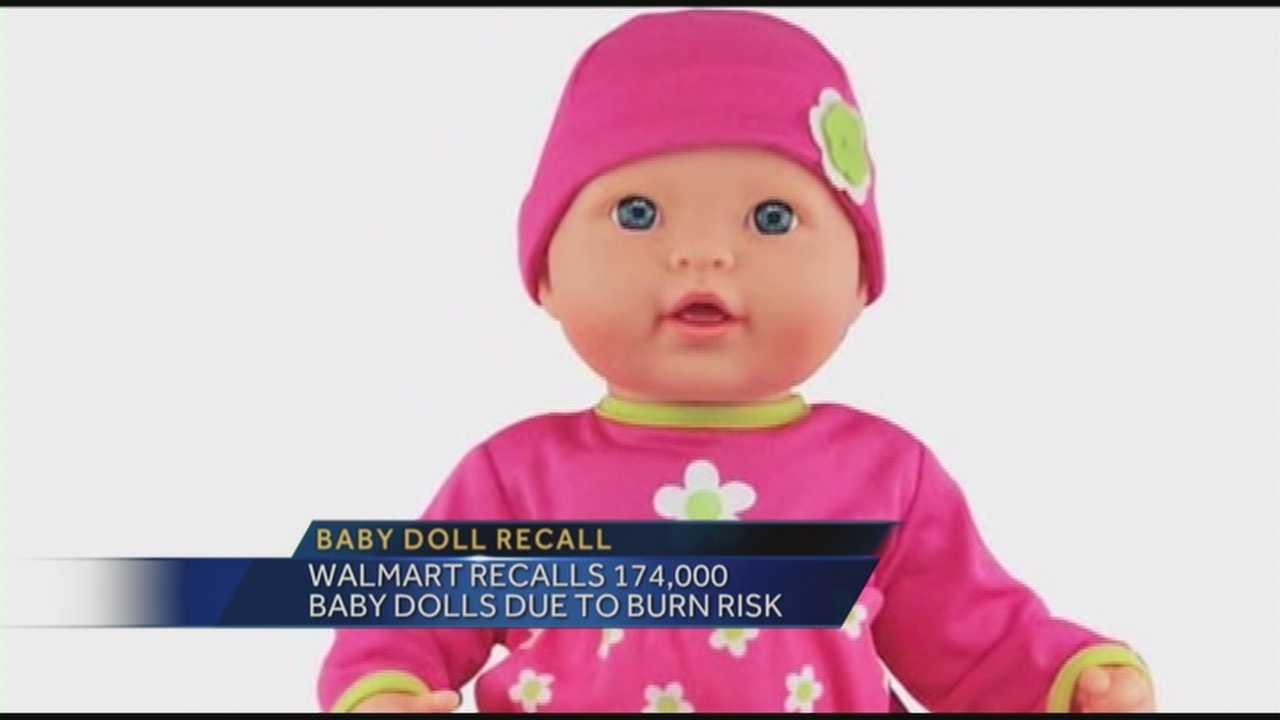 Walmart doll recall