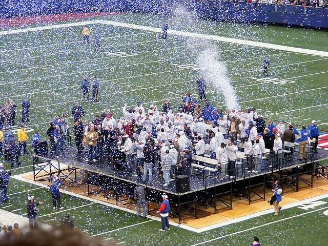 9. Super Bowl XLII Giants vs. Patriots Feb. 4, 2008 -- 44.7% of homes in Louisville watched the game