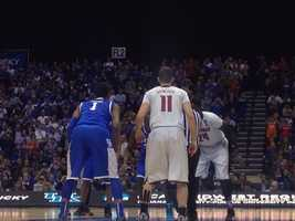 2. NCAA Sweet 16 Kentucky vs. Louisville -- March 28, 2014 -- 51.5% of homes in Louisville watched the game