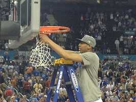 4. 2012 NCAA Championship Kentucky vs. Kansas -- April 2, 2012 -- 51.1% of homes in Louisville watched the game