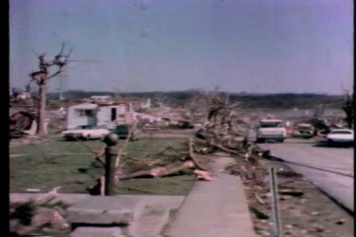 Photo from damages sufferedin Brandenburg