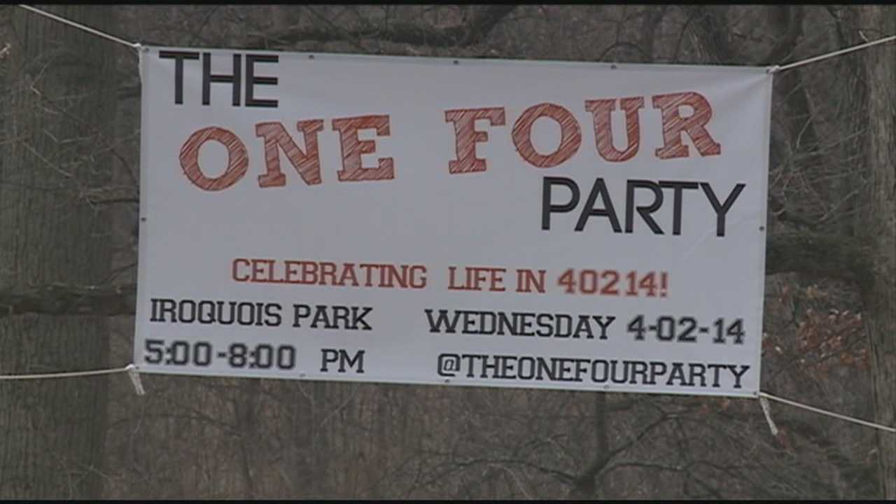 Residents use Wednesday's date to celebrate neighborhood