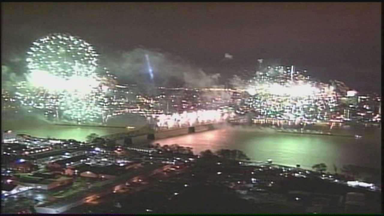 The Thunder Over Louisville preview party was held at Bowman Field on Thursday night.