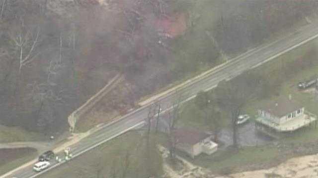 Kentucky Highway 36 near Notch Lick Road in Carroll County