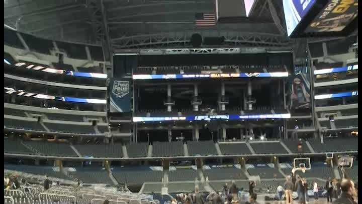 From the best seat in the house to the worst, take a tour of the $1 billion AT&T Stadium where this weekend's Final Four will be played.