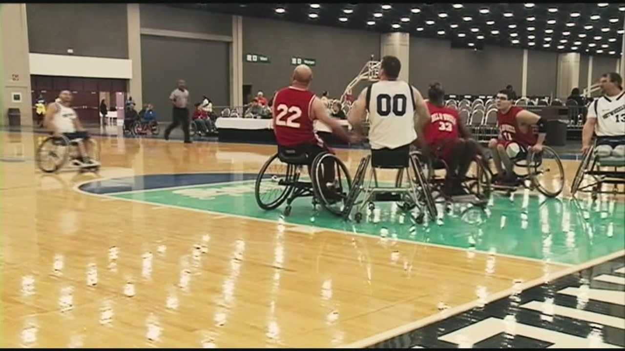 The National Wheelchair Basketball Association's national championship will be played in Louisville.