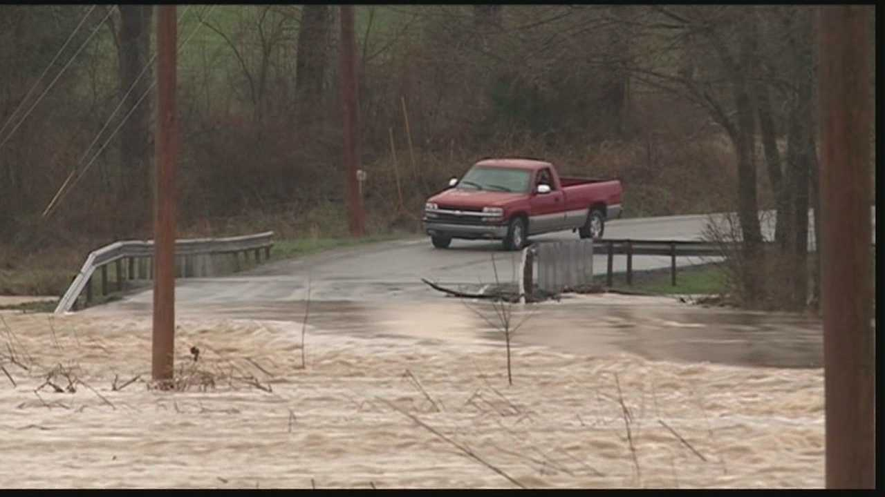Residents in southern Indiana are cleaning up the damage left behind from Friday's flooding.