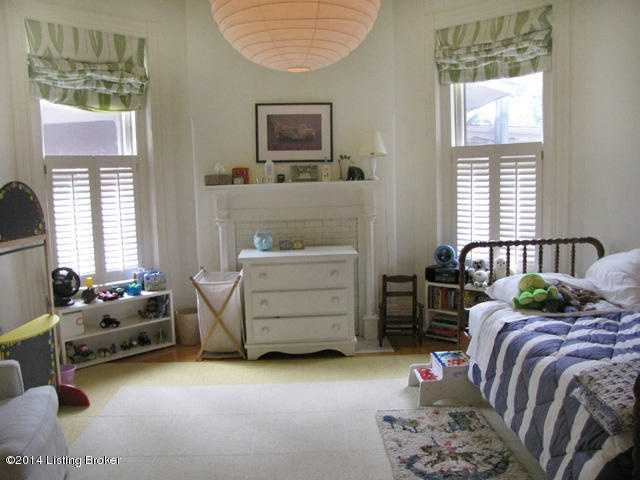 While windows are key to this bedroom, the best part is definitely the space.