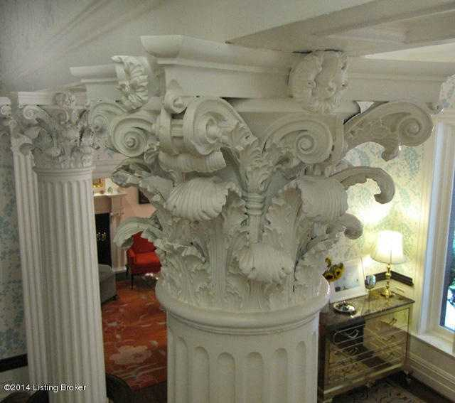 Because it's all in the details, the indoor pillars are masterful.