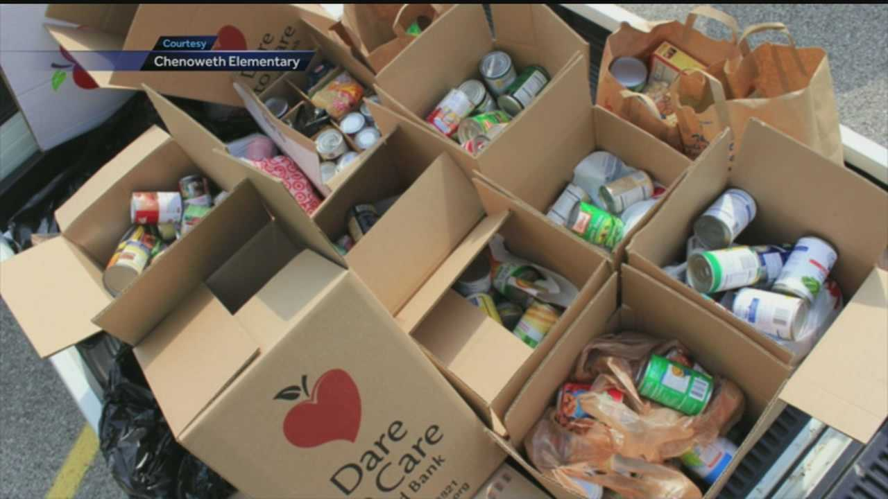 Yum Brands teams up with Dare to Care and Chenoweth Elementary to fight hunger in Louisville