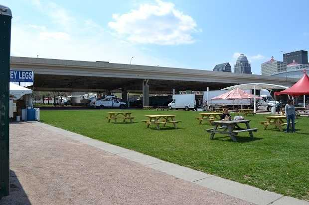 Sit and visit with your friends and co-workers on this nice day at the picnic area. Bring your laptop if you wish and fake working for a while.