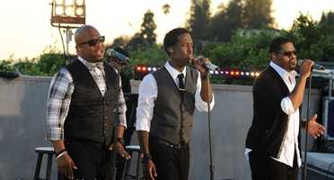 R&B vocal group Boys II Men