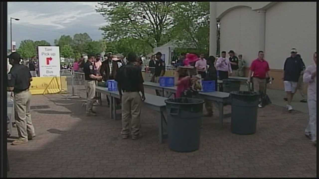 Churchill Downs to keep 2013 security plan for Oaks, Derby