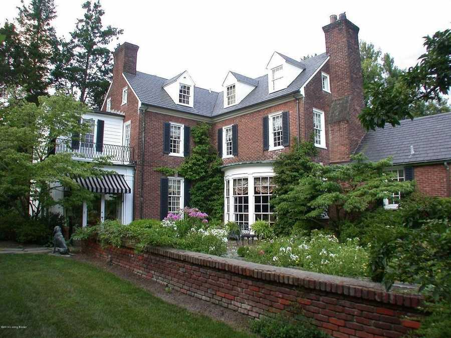 The mansion is 8,364 sq. ft. and sits on 1.5 acres of land in the Winding Falls section of Indian Hills