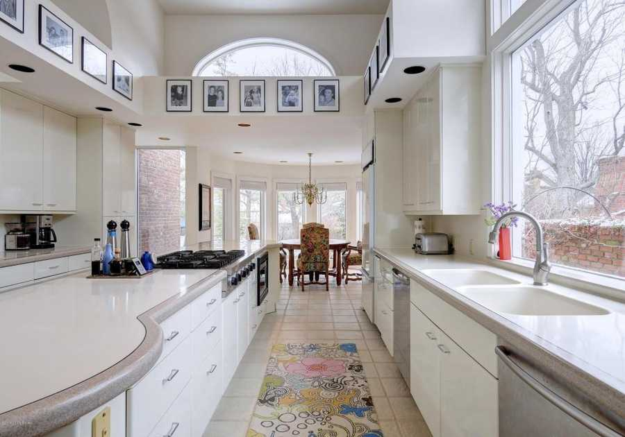 Enjoy one of the best kitchens in Louisville, built as an addition in 1990 and equipped with Sub-zeros, Gaggenau and Viking appliances.