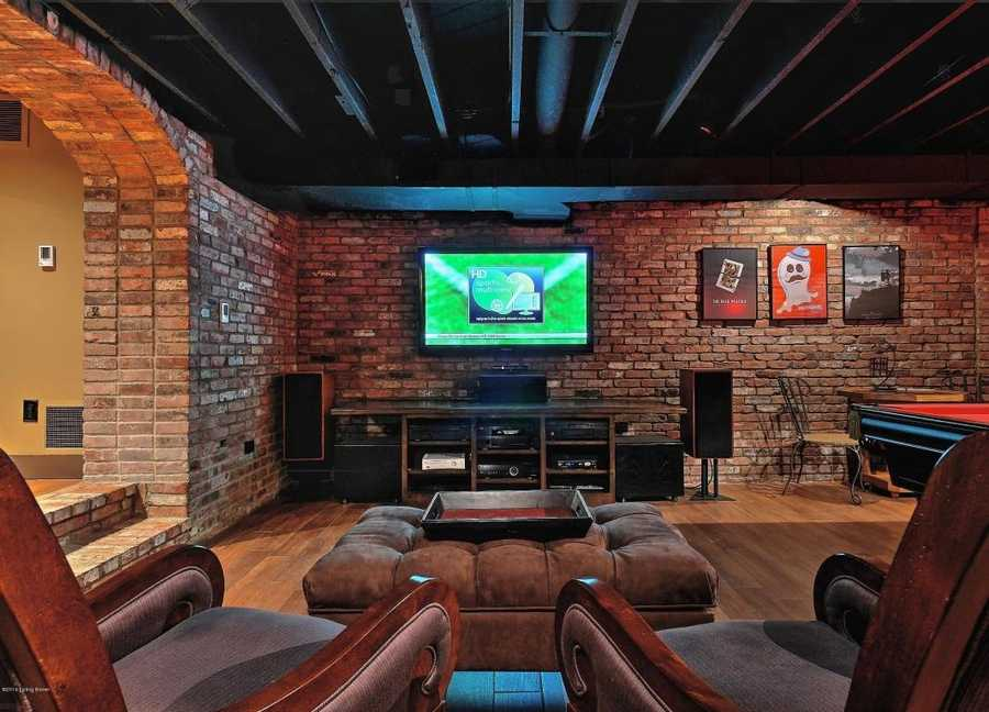 The perfect setting for a man cave.