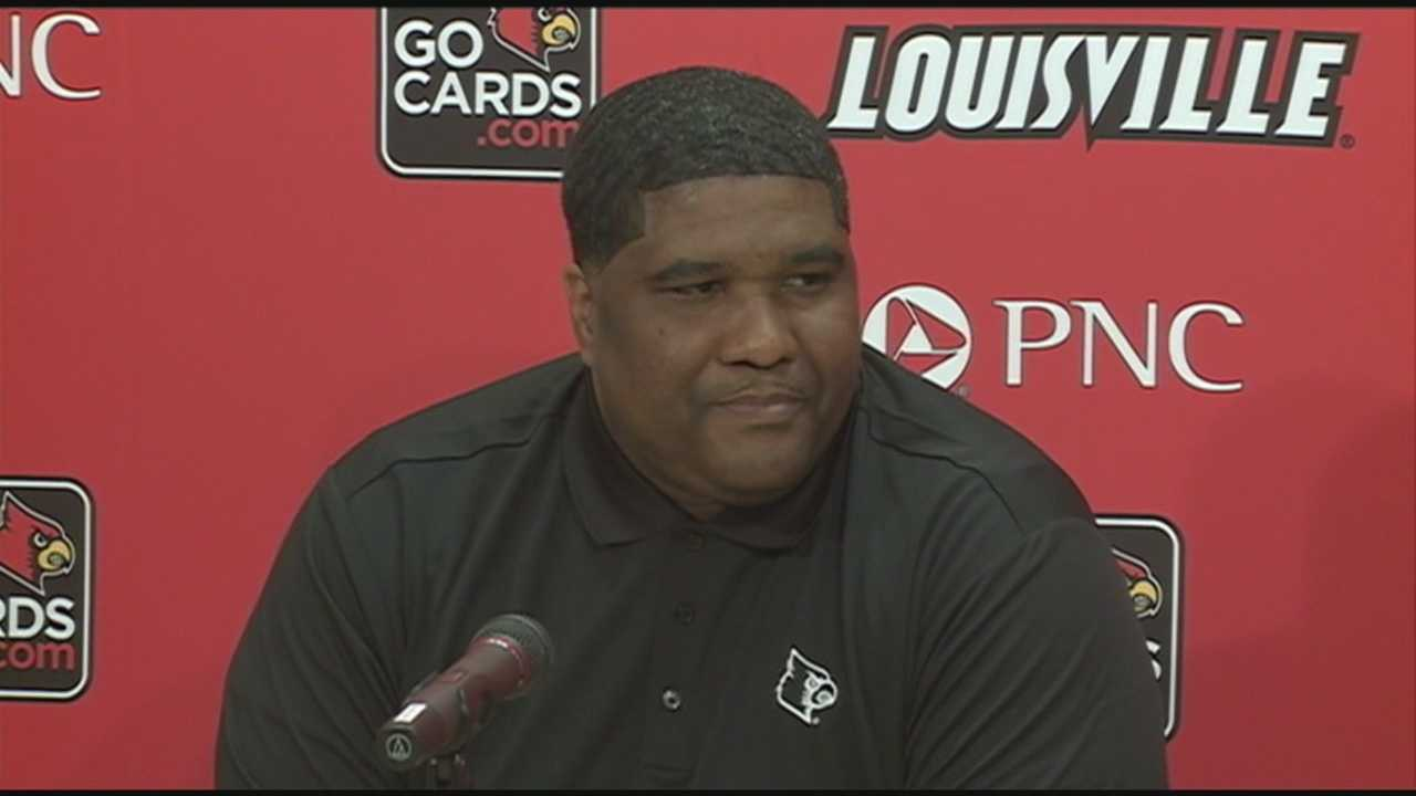 The University of Louisville hires a new assistant basketball coach and recruitment coordinator.