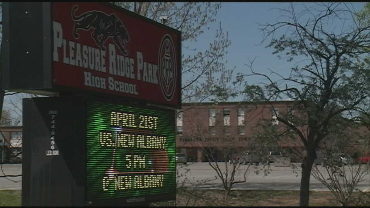 A Pleasure Ridge Park High School student is accused of sexually assaulting a girl at the school.