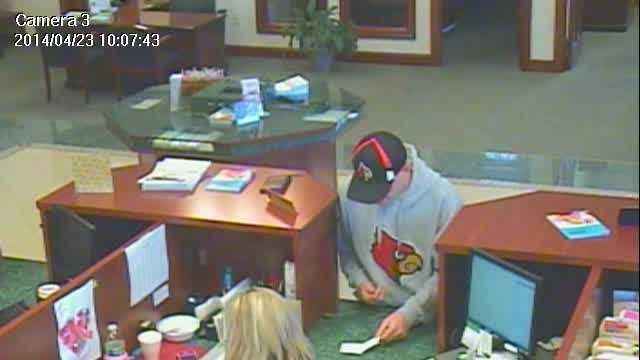 The LaGrange Police Department released video of the suspect from Wednesday's Farmers Bank of Milton robbery.
