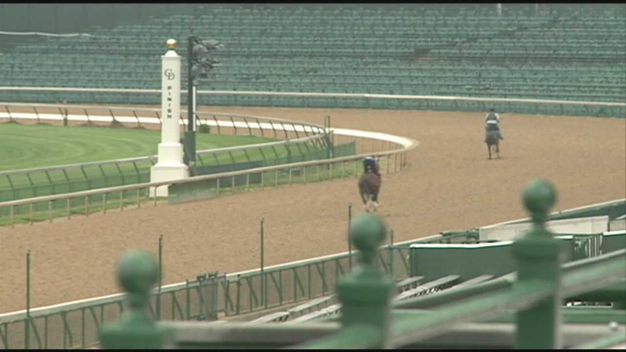 Crews at Churchill Downs are putting the final touches on major renovations ahead of the Kentucky Oaks and Derby.