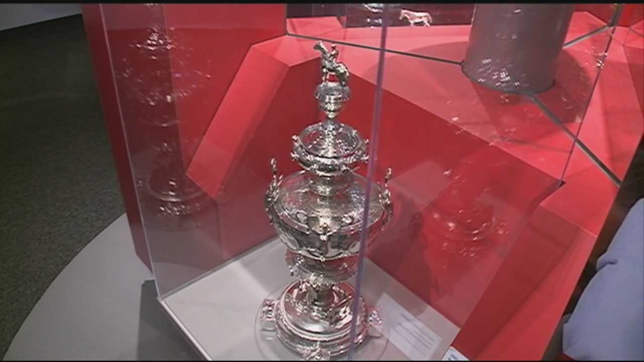 The Kentucky Derby Museum is keeping busy ahead of Saturday's Run For the Roses.