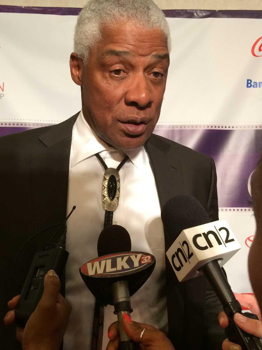 "NBA legend ""Dr. J"" Julius Erving"