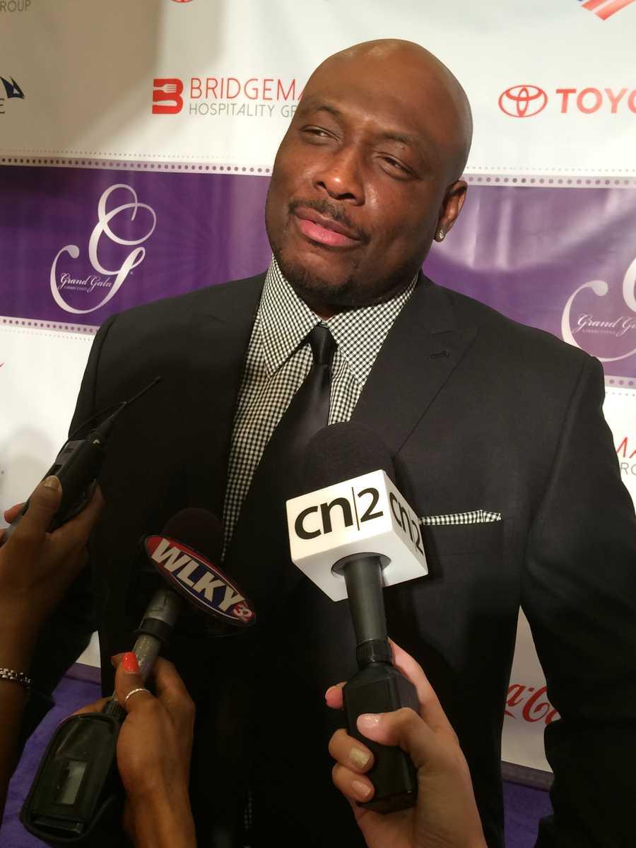 Former NBA player Mitch Richmond