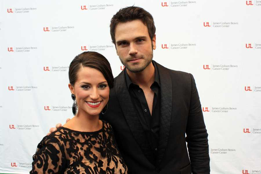 Erica Coghill and Chuck Wicks