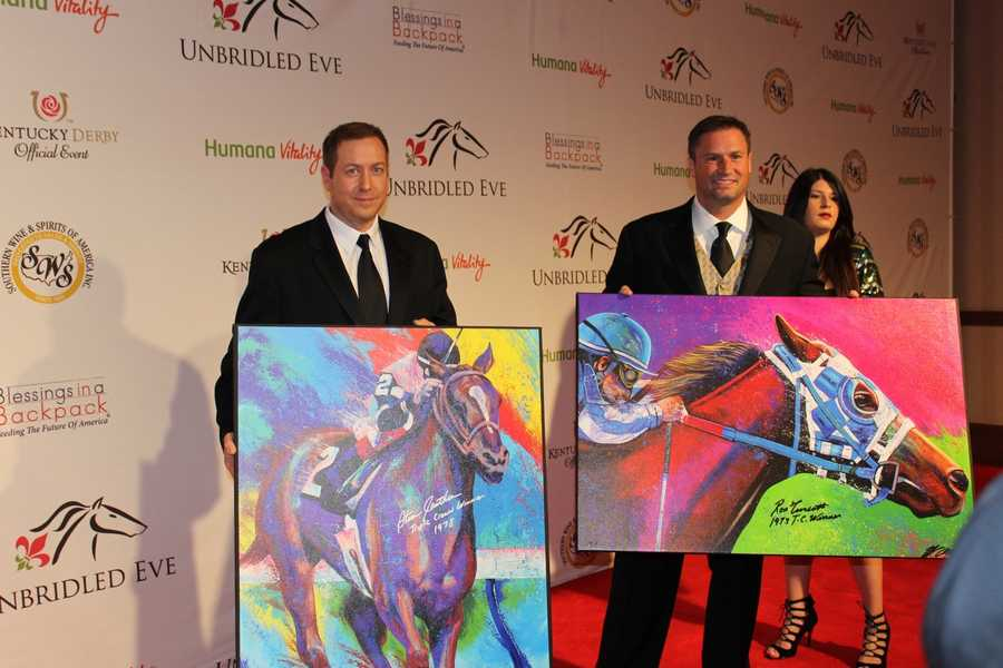 Sports artist Billy Lopa