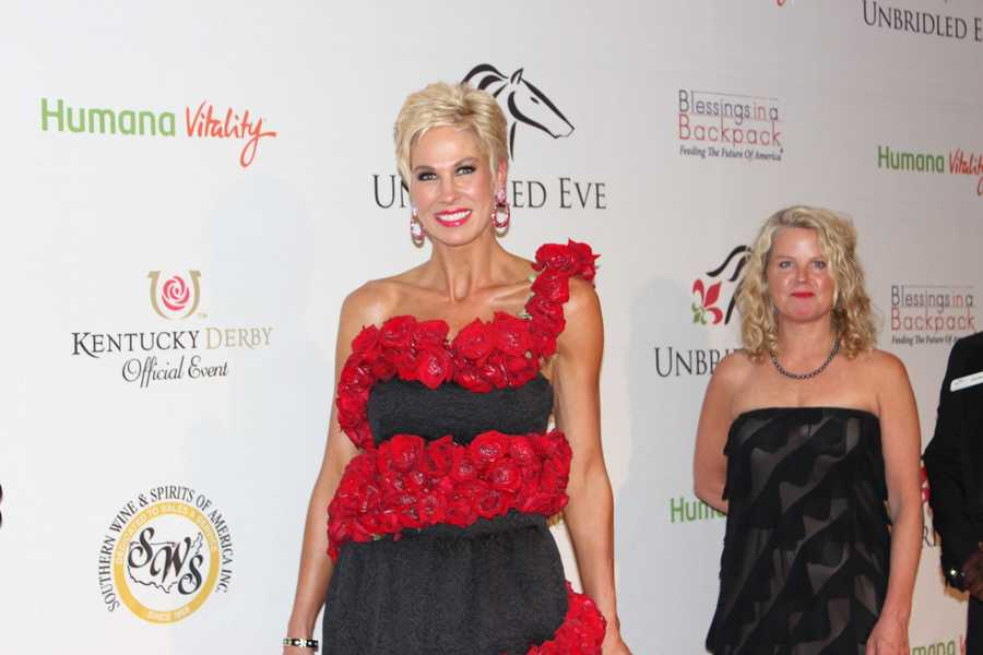 """The """"Rose Dress,"""" modeled by Shannon Voss"""
