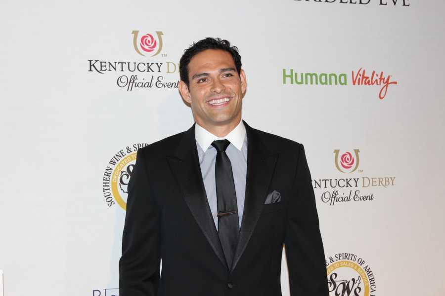 Philadelphia Eagles football player Mark Sanchez