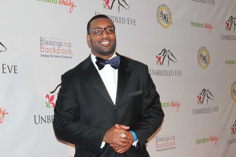 Baltimore Ravens football player Chris Canty
