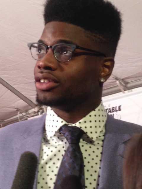 Former University of Kentucky basketball player Nerlens Noel