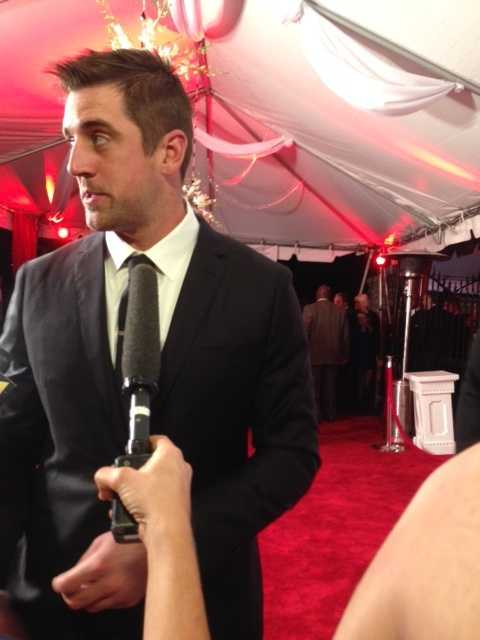 NFL player Aaron Rodgers