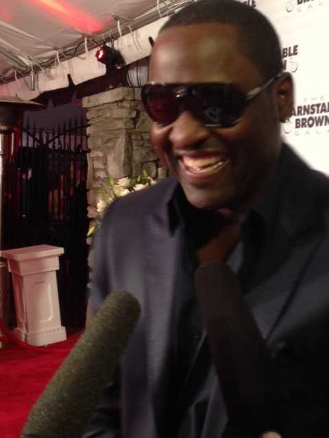Johnny Gill, singer and song writer -- member of New Edition