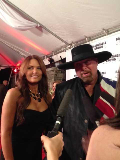 Country music star Eddie Montgomery