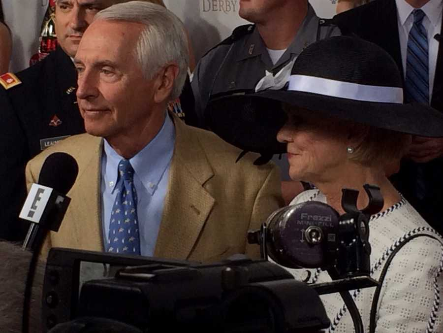 Gov. Steve Beshear and First Lady Jane Beshear