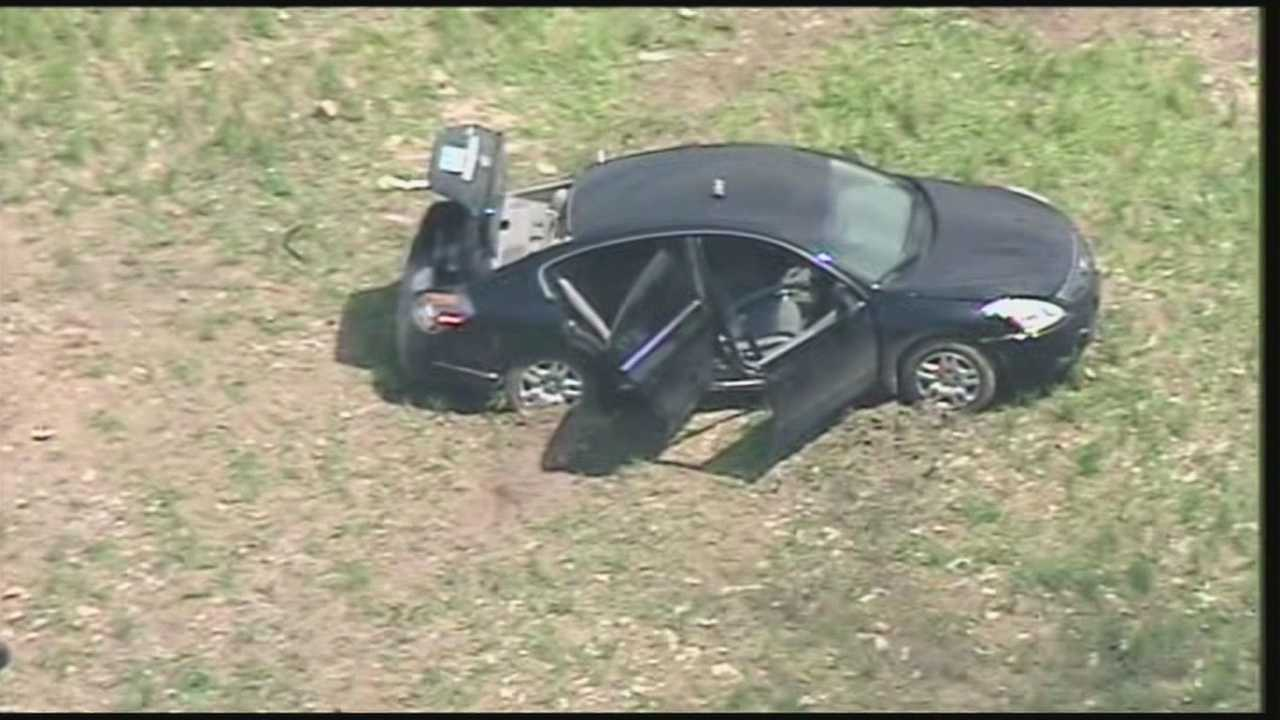 Police in southern Indiana say a high-speed chase Monday was one of the strangest they've worked.