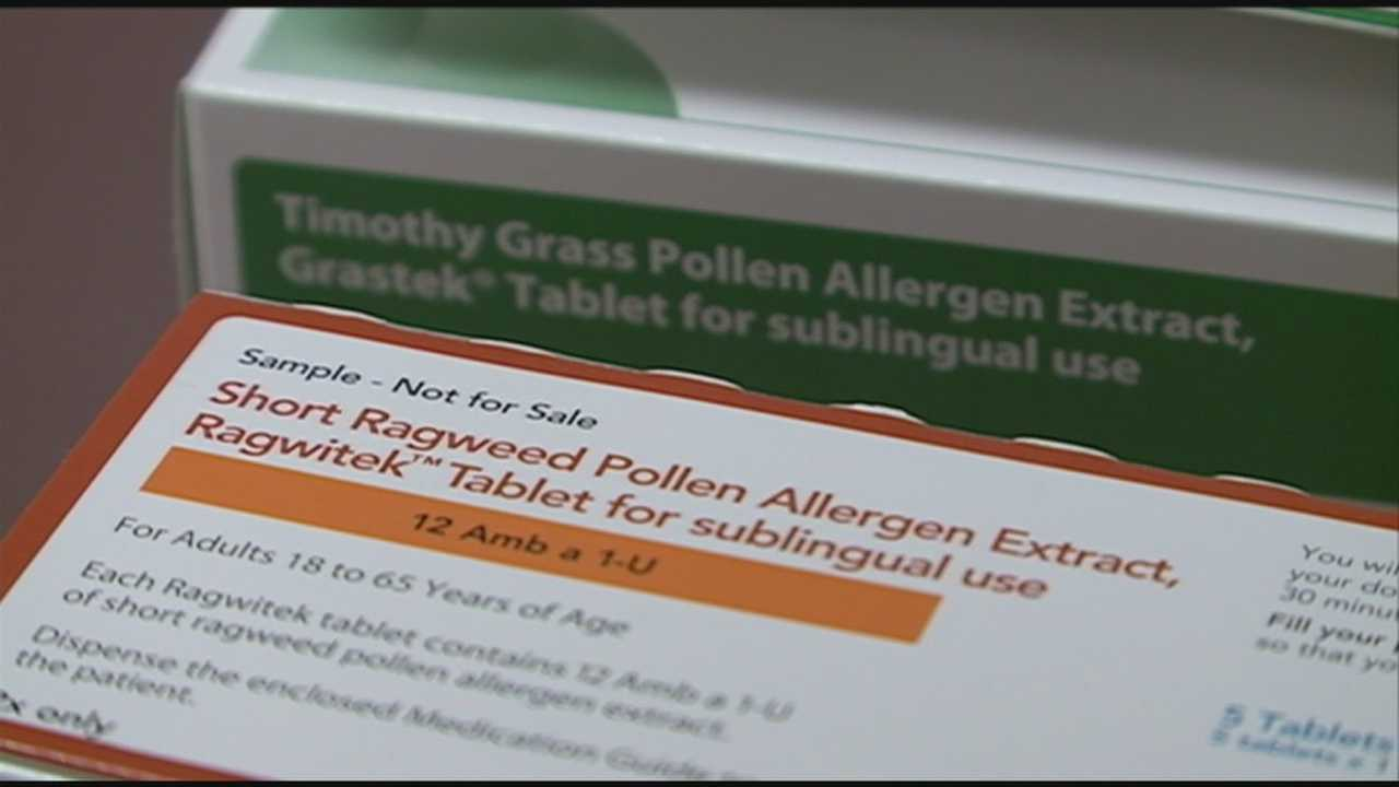 New treatments have been approved that could be an alternative to allergy shots.