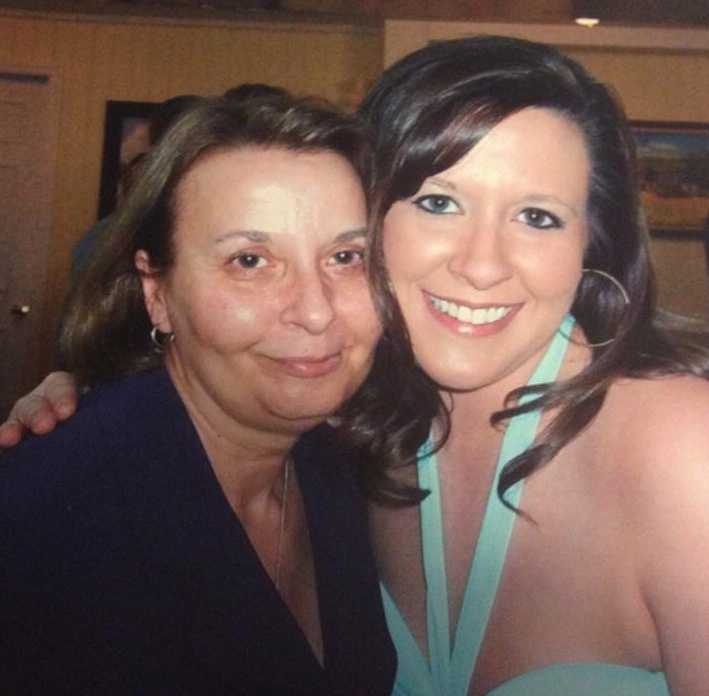 Producer Kendra Steele and her mom