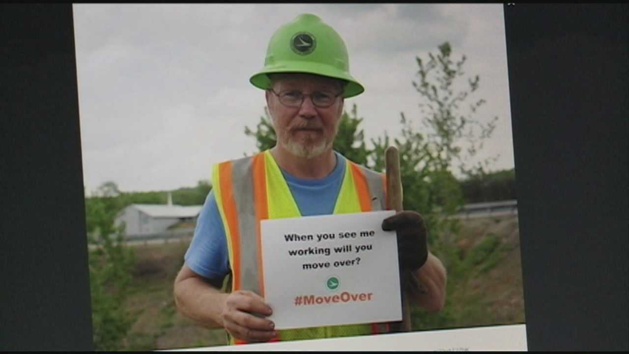 Social media campaign asks driver to move over
