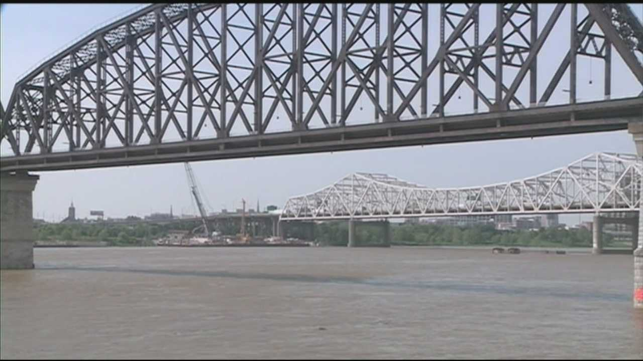 The Indiana side of the Big Four Bridge opens Tuesday afternoon.
